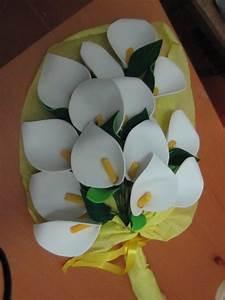 ramo de flores en calas de goma eva ideal para aniversario goma eva detalles para regalar
