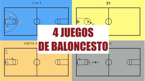 sistemas de baloncesto 4 juegos de baloncesto juegos educaci 243 n f 237 sica