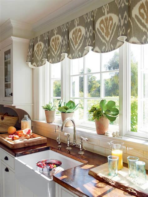 ideas  kitchen bay window treatments theydesign