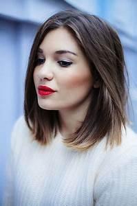Coupe Carré Lisse : coiffure les plus beaux carr s vus sur pinterest glamour ~ Melissatoandfro.com Idées de Décoration