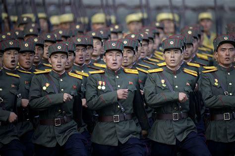 North Korea Parades Missiles, Says 'ready' For Any War