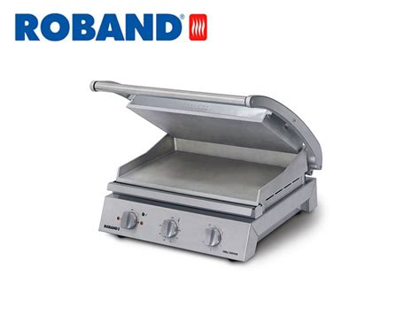 roband gsas contact grill smooth top plate  slices