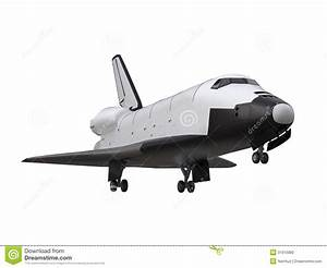 Space Shuttle Isolated stock illustration. Illustration of ...