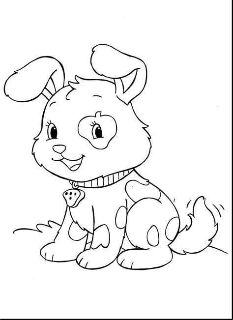 Cute Baby Animals Coloring Pages - Coloring Pages For Children