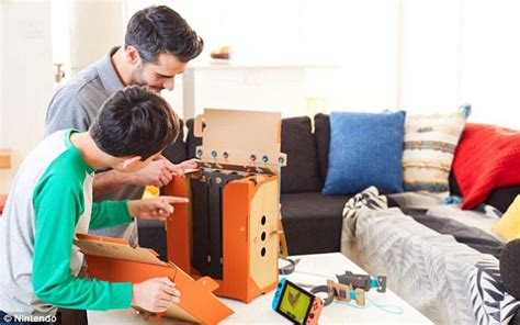 Nintendo Launching Cardboard Accessories For The Switch