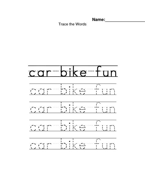word tracing worksheets www imgkid the image kid