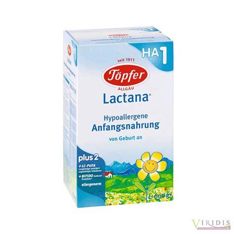 Lapte Praf Ha1 Topfer Bio 600gr