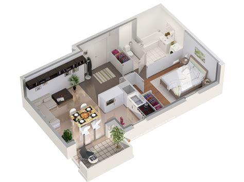 plans 3d de t2 et t3 studio multim 233 dia 3d at home
