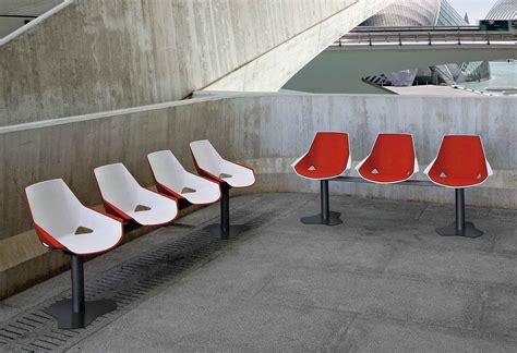 siege poutre chaise sur poutre 3 places design eklo
