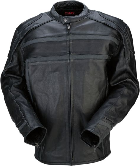 mens leather riding jacket new z1r men 39 s 444 leather motorcycle riding jacket ebay