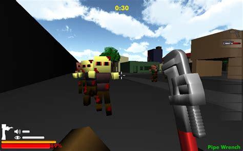 minecraft zumbi blocks  game funnygamesus
