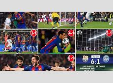 Barcelona 61 PSG Agg 65 How one of the greatest ever