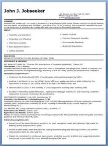 manufacturing duties resume production line worker resume exles resume
