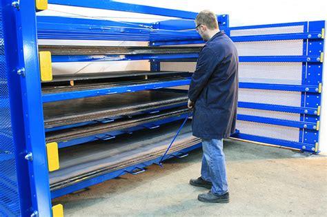 roll  sheet rack king materials handling