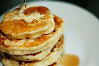 Pancakes Fluffy Syrup Maple Recipe Pancake Butter