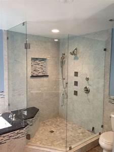 Corner Shower With Kohler Luxury Body Jets