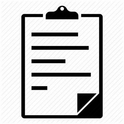 Clipboard Icon Checklist Order Hold Document Notes
