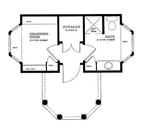 pool house plans with bathroom small pool house plans smalltowndjs com