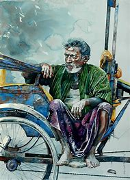 Indian Watercolor Artist Watercolor Paintings