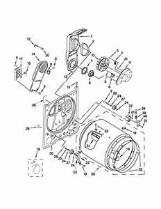 Maytag Centennial Dryer Parts Diagram