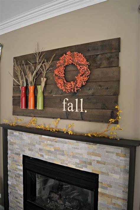 cozy  creative fall mantel decorating ideas digsdigs