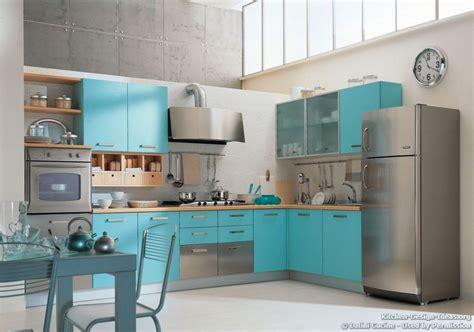 blue kitchens  pinterest italian kitchens modern