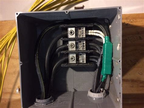 Subpanel For Outbuilding Amp Service