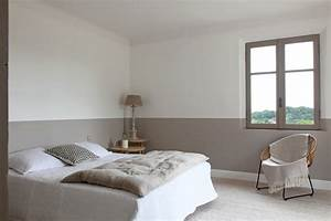 Peinture Blanc Gris : peinture chambre gris et blanc avec enchanteur deco chambre gris blanc avec decoration chambre ~ Nature-et-papiers.com Idées de Décoration