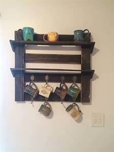 pallet coffee cup holder o 1001 pallets With best brand of paint for kitchen cabinets with candle holder cups