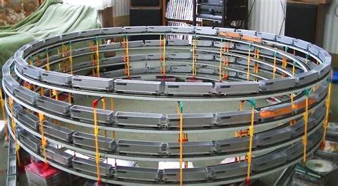unbelievable ho scale model train quadruple double helix train fanatics