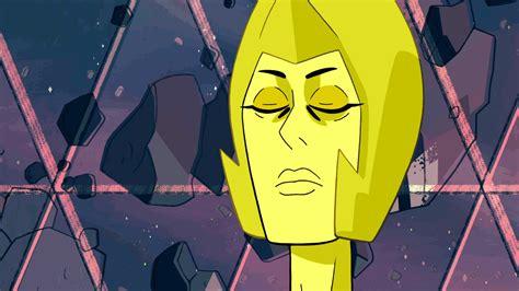 yellow diamond intensifies  gif stevenuniverse