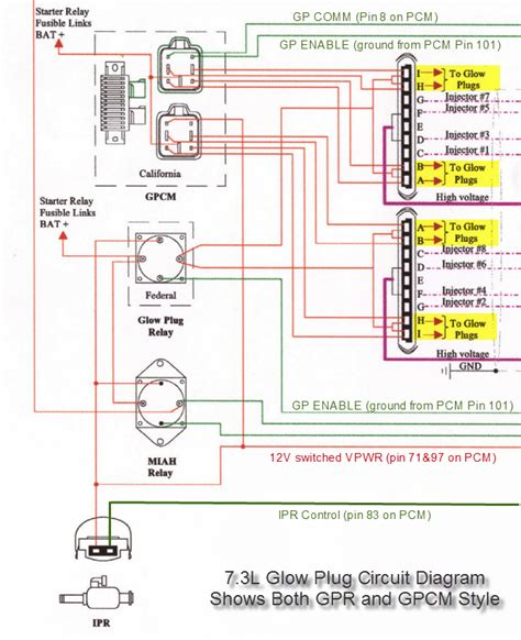 Glow Plug Relay Wiring Ford Truck Enthusiasts Forums