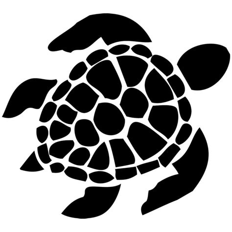 turtle clipart black and white turtle silhouette clipartion
