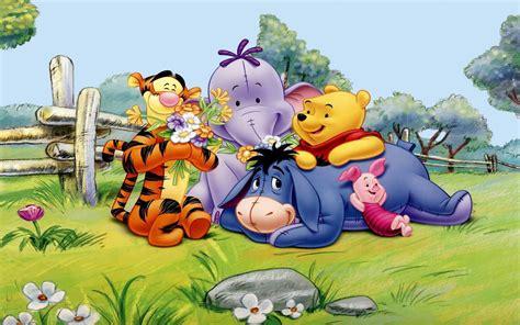 Winnie The Pooh Tigger Eeyore Piglet And Elephant Spring