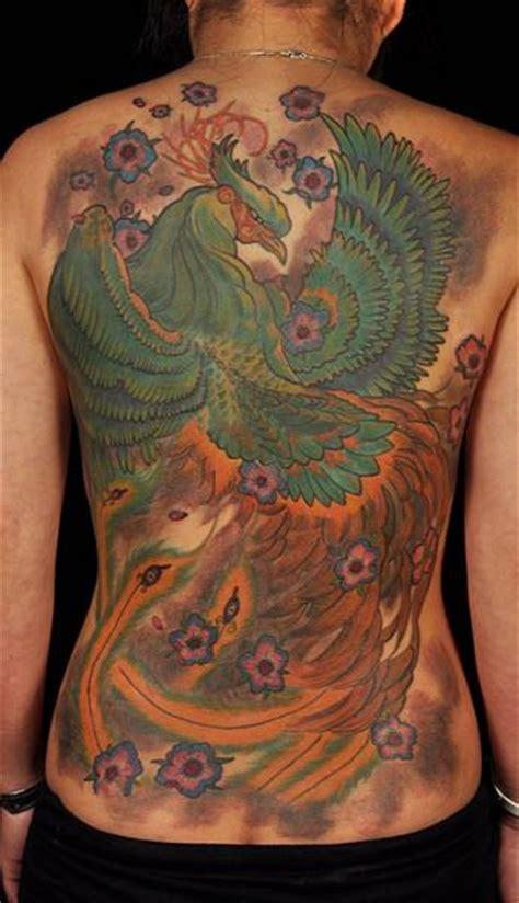 japanese  phoenix tattoo  matthew hamlet tattoo