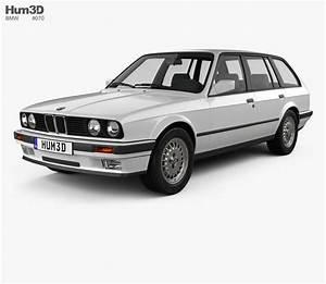 Bmw E30 Touring : bmw 3 series touring e30 1990 3d model hum3d ~ Melissatoandfro.com Idées de Décoration