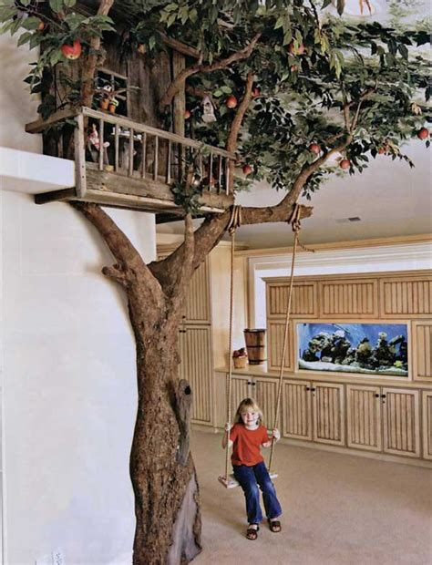 examples  indoor swings turn  home   playground   ages architecture design