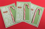 Printable Candy Cane Seeds Poem - Snowman Soup Gift Other ...
