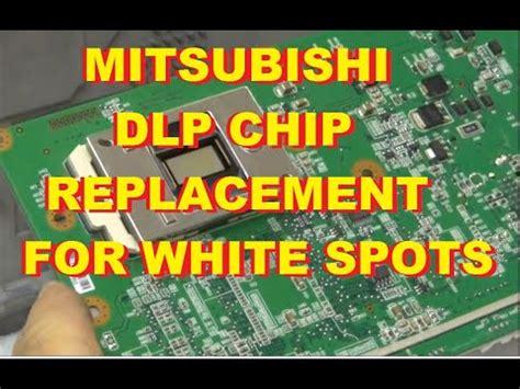 Mitsubishi Tv White Dots On Screen by Mitsubishi White Dots Spots Dlp Chip Ic Replacement Car