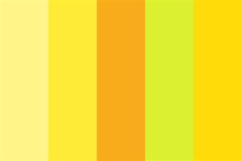 Palette Yellow by Yellow Aesthetic Color Palette