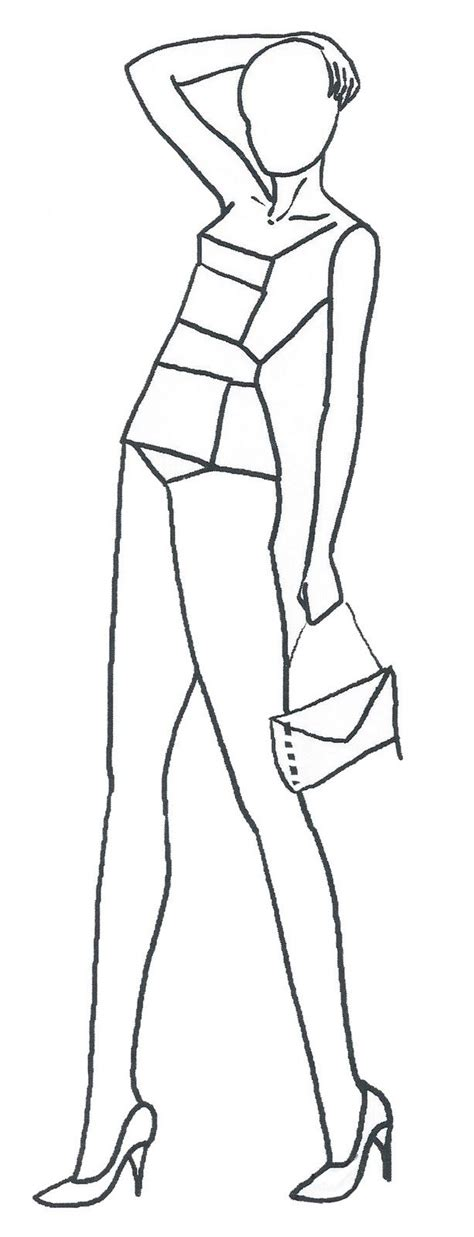 Fashion Designer Drawing Template by 22 Best Fashion Figures Images On Fashion
