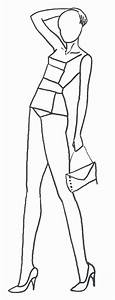 22 best fashion figures images on pinterest fashion With fashion designer drawing template