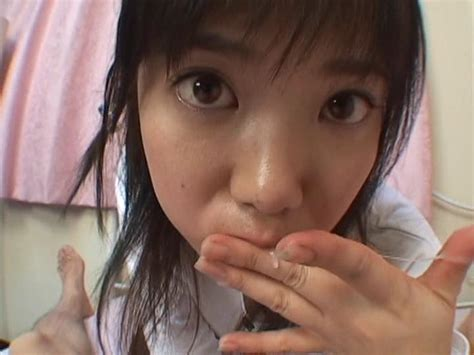 Super Cute Asian Teen With Huge Eyes Sucking Dick At Tokyo