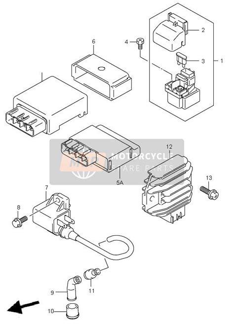 Suzuki Eiger Parts by Suzuki Lt A400f Eiger 4x4 2007 Electrical Msp