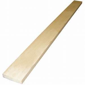 Planche Mélaminé Blanc : planche de pin blanc noueux 1 po x 4 po x 6 pi rona ~ Dode.kayakingforconservation.com Idées de Décoration