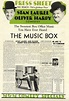 LAUREL AND HARDY IN THE MUSIC BOX/PRESSBOOK (1932 ...
