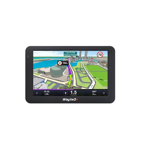 android gps wayteq x995bt sygic navigation device