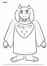 Undertale Toriel Draw Sans Step Coloring Drawing Template Papyrus Sketch Tutorial Chibi Improvements Necessary Finally Finish Tutorials Drawingtutorials101 sketch template
