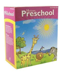 horizons preschool textbooks education ebay 373 | $ 35