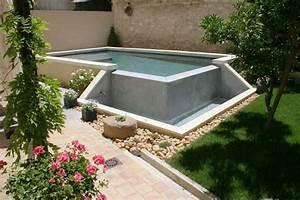 piscine hors sol 10 m2 With attractive terrasse en bois pour piscine hors sol 7 installer une mini piscine